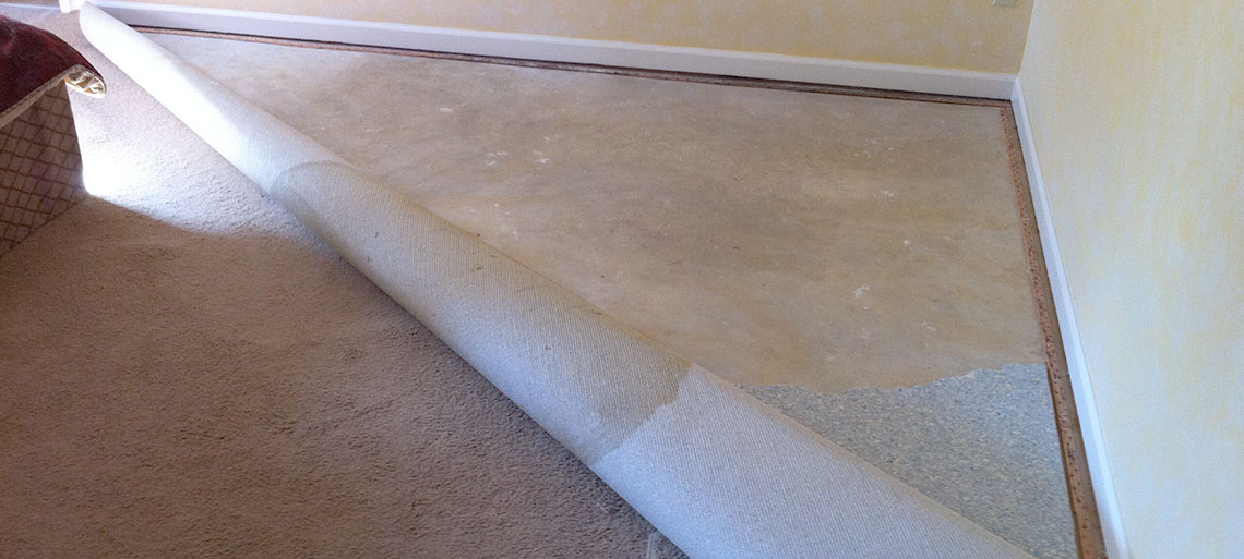 Flood Damage Repair Carpet Reinstallation